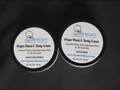 Product Review Featuring Qualerex Beauty Argan Hand & Body Cream