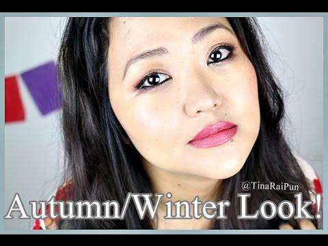 Autumn/Winter Plum Bronze Makeup Tutorial - Tina Rai Pun