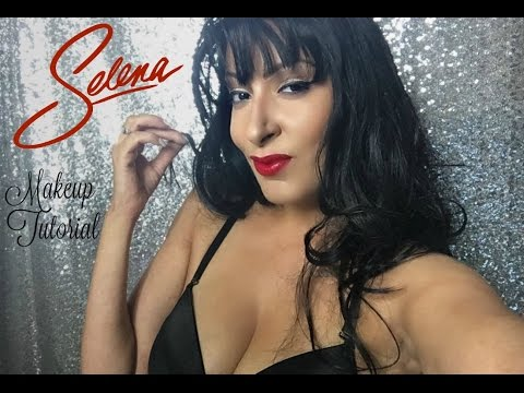 Selena Quintanilla Inspired   Halloween Makeup Transformation