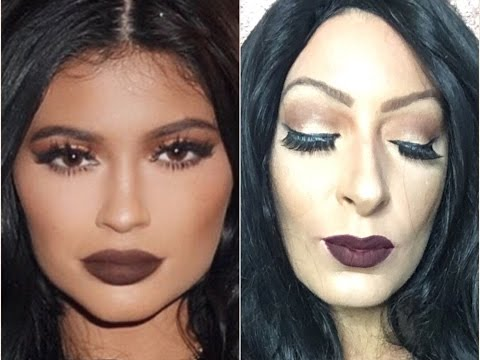 Kylie Jenner Inspired   Fall Makeup Look