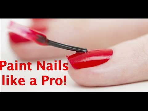 How To Paint Nails With Your Non-Dominant Hand Like A Pro!