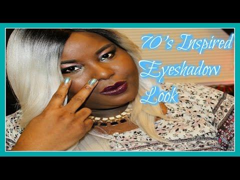 70's Inspired Eyeshdaow Look Tutorial