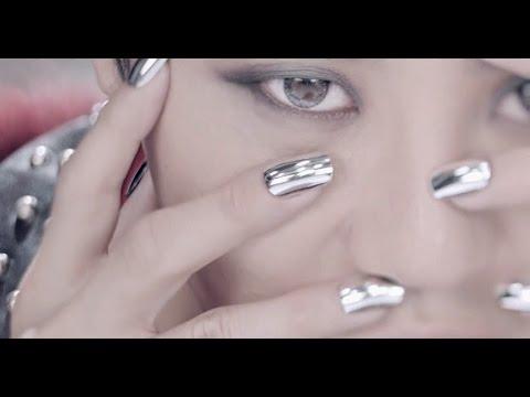 KPOP Nails: XIA 시아 준수 - 꽃 (FLOWER ) Mirror Nails