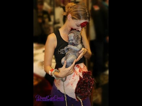 Walking Dead Inspired Spfx Zombie Mom Costume by VisualEyeCandy