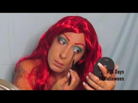 Disney's Little Mermaid   Halloween Makeup Tutorial
