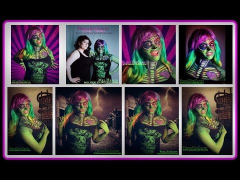 4D Toxic POP Zombie BodyPaint VisualEyeCandy
