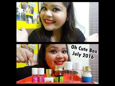 Oh Cute Box July 2016: Review   Kanika Sharma  