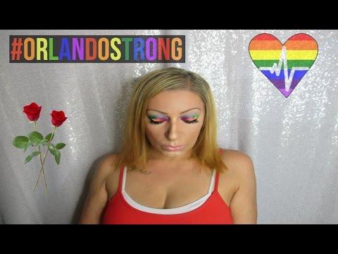 Pride Makeup   #OrlandoStrong