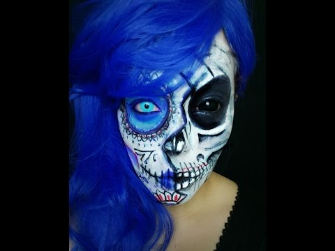 WEEZEFX   Halloween Make-up Timelapse