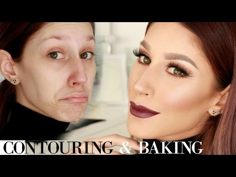 Contouring & baking my face / Sminkanje sa Jelenom