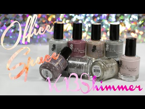 KBShimmer Office Space | Review & Swatches + GIVEAWAY(CLOSED)!!!!