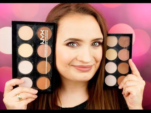 Contour palettes: Makeup Revolution vs NYX