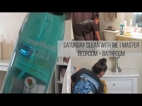 Saturday Cleaning Motivation | Master Bedroom + Bathroom