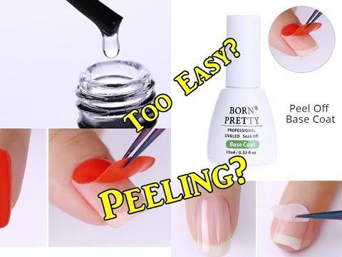 PEEL OFF Gel Nails? Does it work?