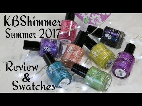 KBShimmer Summer Vacation 2017 | Review & Swatches