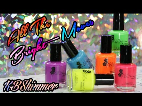 KBShimmer All The Bright Moves 2017| Review & Swatches