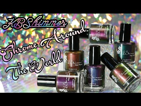 KBShimmer MultiChrome Collection 2017 | Review & Swatches