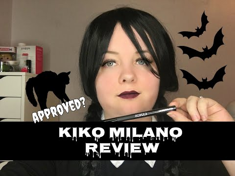 Wednesday Reviews | Kiko Milano | Ultimate Pen Long Wear Eyeliner