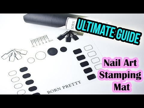 How to - Use & Clean Nail Art Stamping Mat