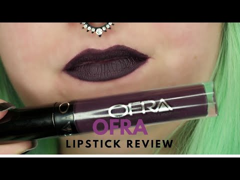 Wednesday Reviews | Ofra Cosmetics | Long Lasting Liquid Lipstick in Bordeaux