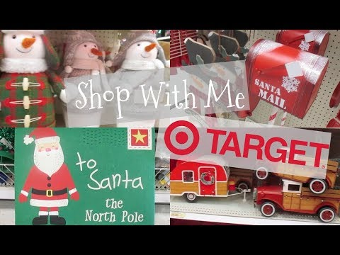 Target Dollar Spot Christmas Shop With Me
