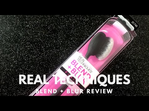 Wednesday Reviews | Real Techniques | Blend + Blur Finish Contour Brush