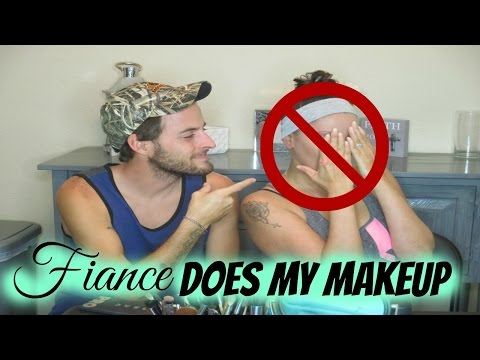 Fiancé Does My Makeup TAG | Couples Challenge