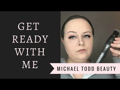 Get Ready With Me   Featuring Michael Todd Beauty Sonicblend