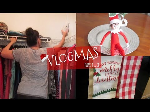 Decluttering & Cleaning For The Holidays   VLOGMAS Days 1-3