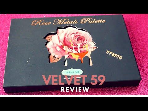 Wednesday Reviews | Velvet 59 | Rose Metals Palette