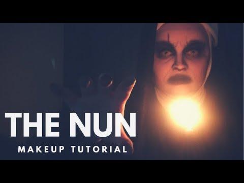 The Conjuring 2 | The Creepy Nun | Makeup Tutorial