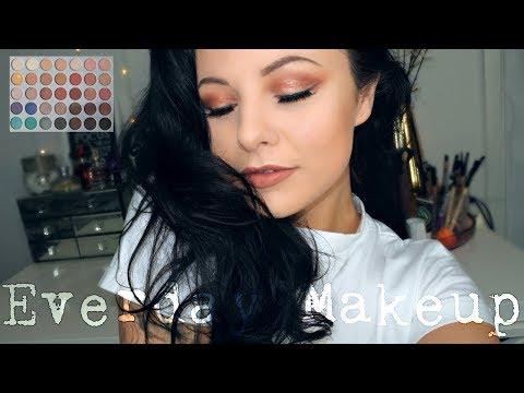 Everyday Makeup Using Jaclyn Hill Morphe Palette | Danielle Scott