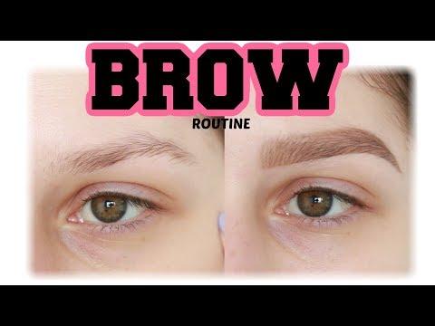 BROW ROUTINE  2018 / Sminkanje sa Jelenom