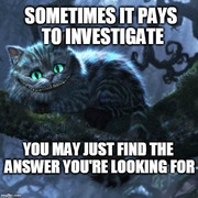Pays to Investigate.