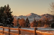 Haystack Mountain and the Flatirons