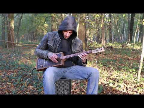 Gary O'slide - Slow blues cigar box guitar