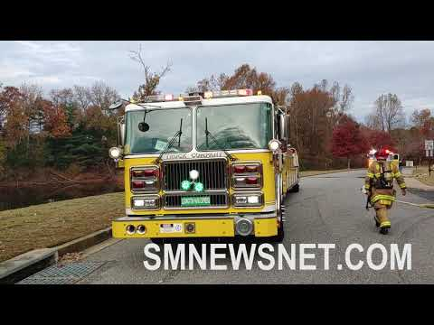 Great Mills, Maryland House Fire