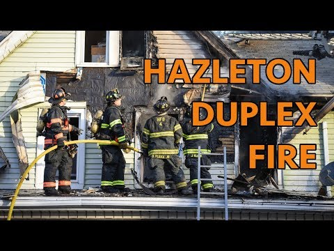 Hazleton, PA House Fire