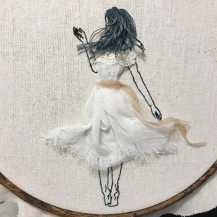 ხელოვნება, ქარგვა ნაქარგობა, 3D, ბლოგი, Qwelly