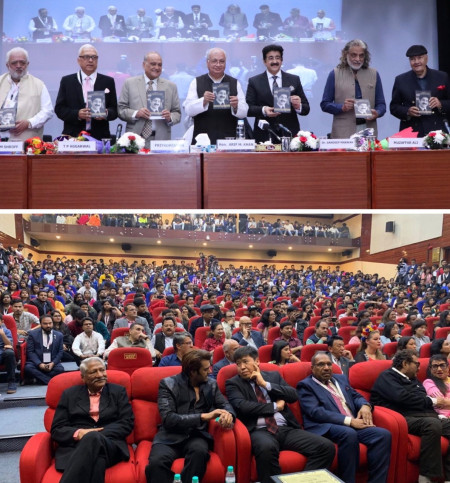 Grand Release of Biography of Sandeep Marwah -A Walk In The Corridor of Eternity