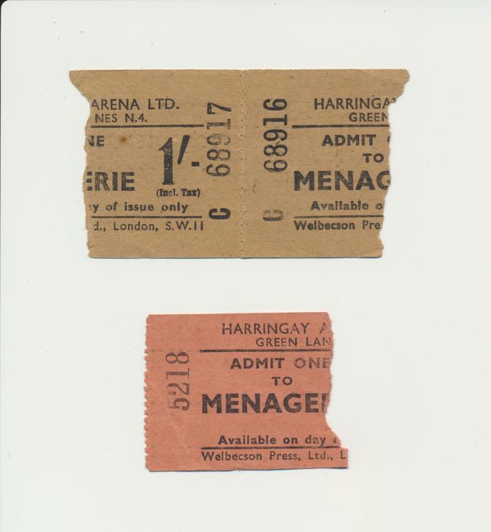 Harringay Arena tickets
