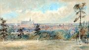 Finsbury Park Landscape Watercolour, 1905