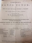 title page 'England's Premier Classical Banjoist'