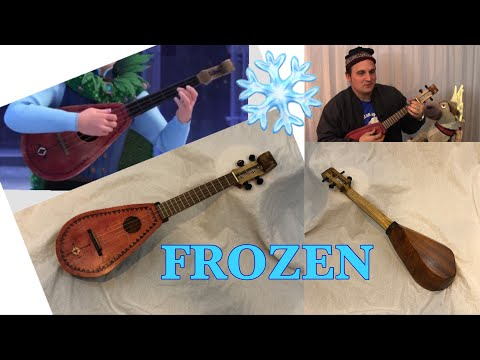 I built Kristoff's Ukulele from Frozen