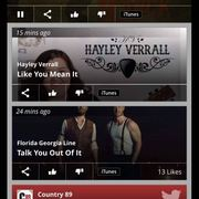 Hayley Verrall at Country 89 August 16, 2019