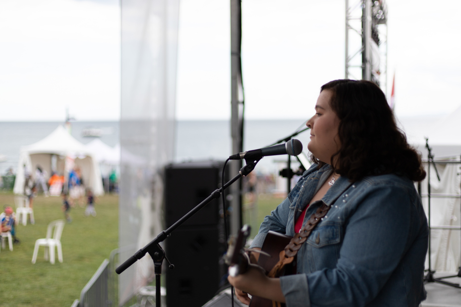 Hayley Verrall at Canada's Largest Ribfest September 2, 2019