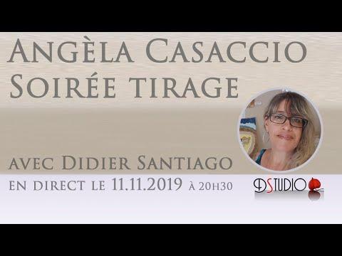 Soirée tirage d'Oracle avec Angèla Casaccio & Didier Santiago 11.11.2019