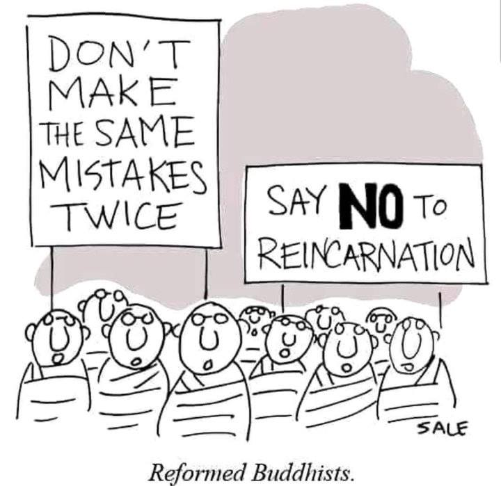 Reformed Buddhists :-)
