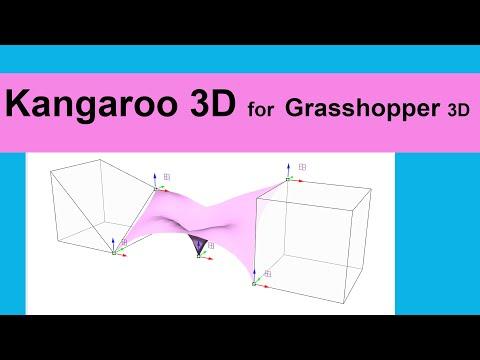 Kangaroo 3D for Grasshopper 3D
