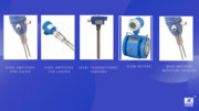Level switches, Transmitters, Flow meters